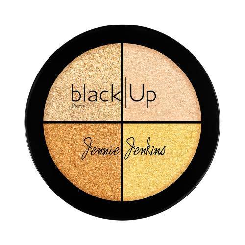 Jennie Jenkins Black Up Highlighting Palette 01