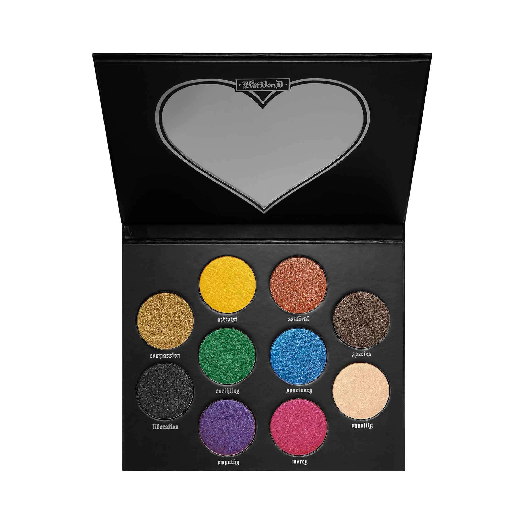 Kat Von D Vegan Love Eyeshadow Palette