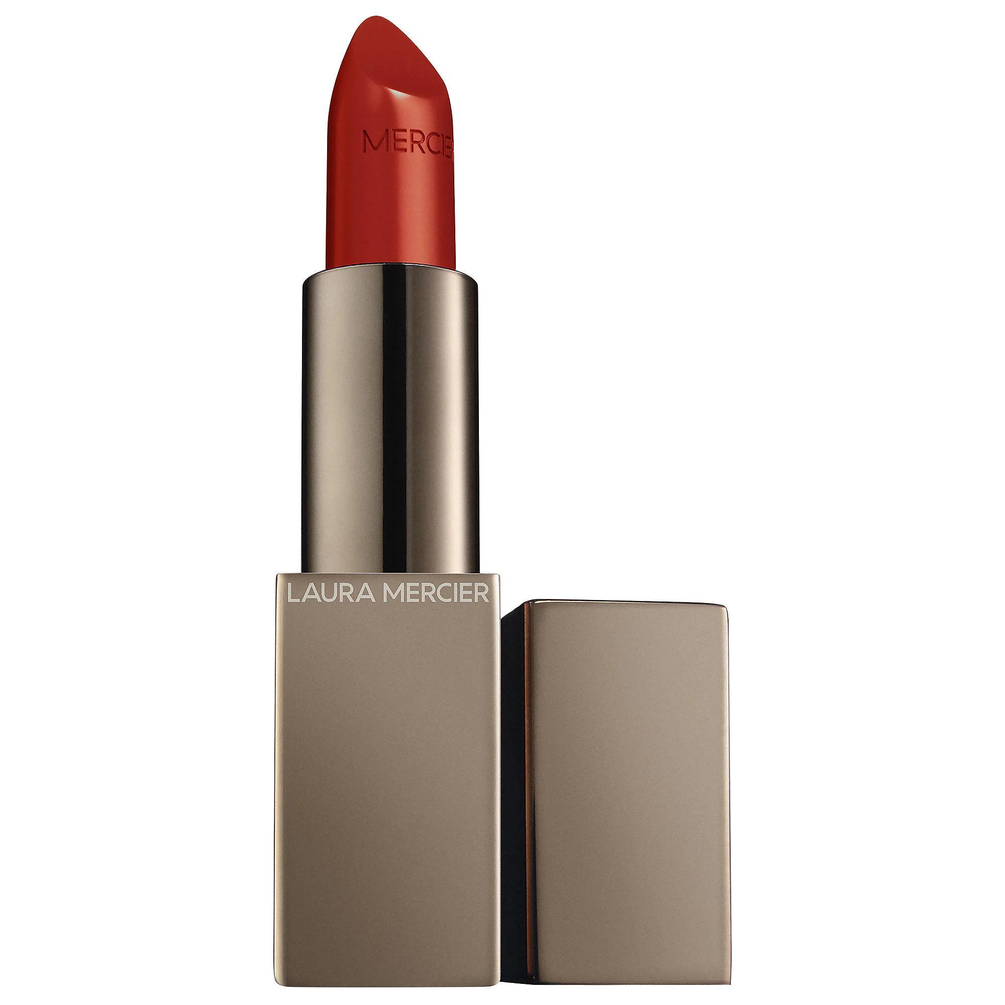 Laura Mercier Rouge Essentiel Silky Crème Lipstick Rouge Electrique