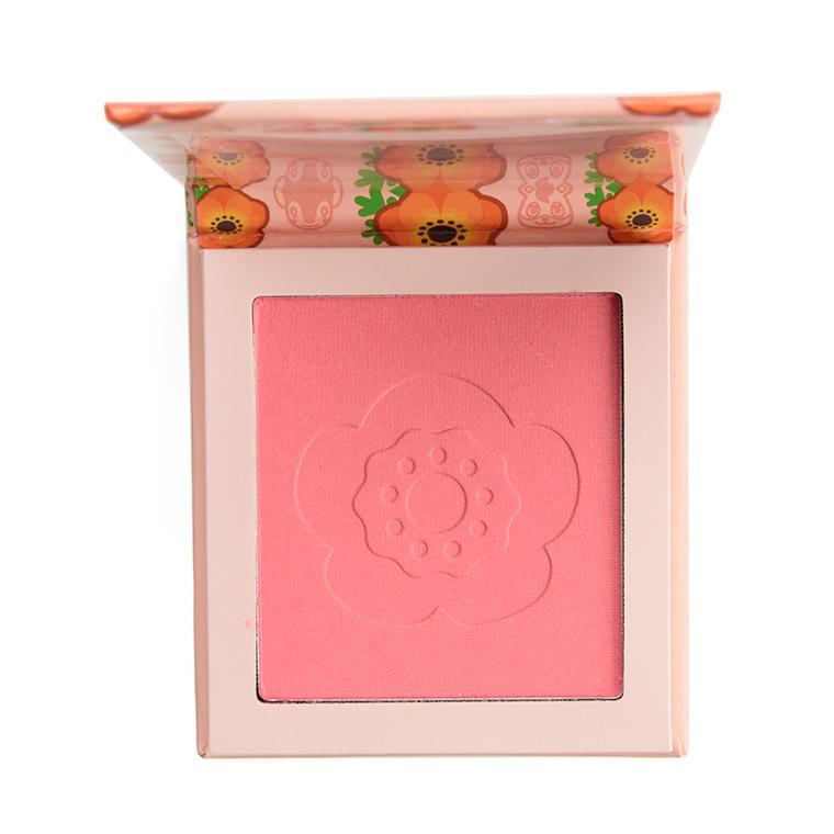 ColourPop x Animal Crossing Pressed Powder Blush Flower Tender
