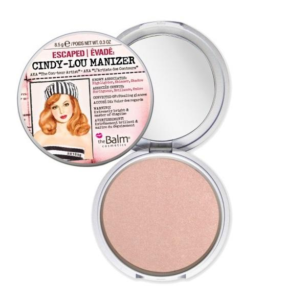 The Balm Highlight Shimmer Pressed Powder Cindy-Lou Manizer