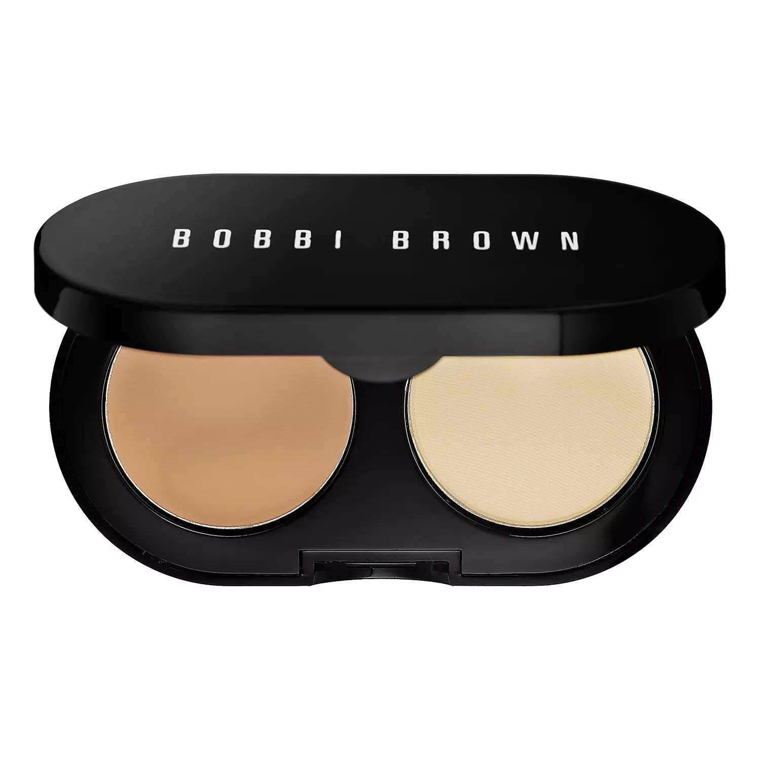 Bobbi Brown Creamy Concealer Kit Natural Tan/Pale Yellow