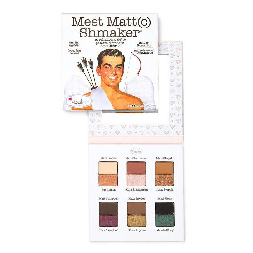 Meet Matt(e) Shmaker Eyeshadow Palette