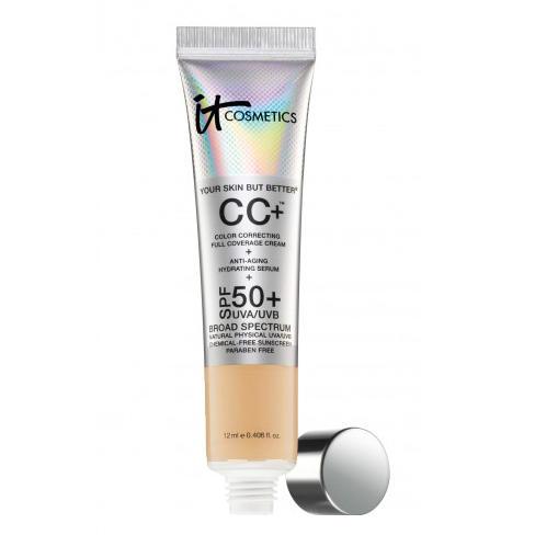 IT Cosmetics CC+ Color Correcting Full Coverage Cream SPF 50 Tan