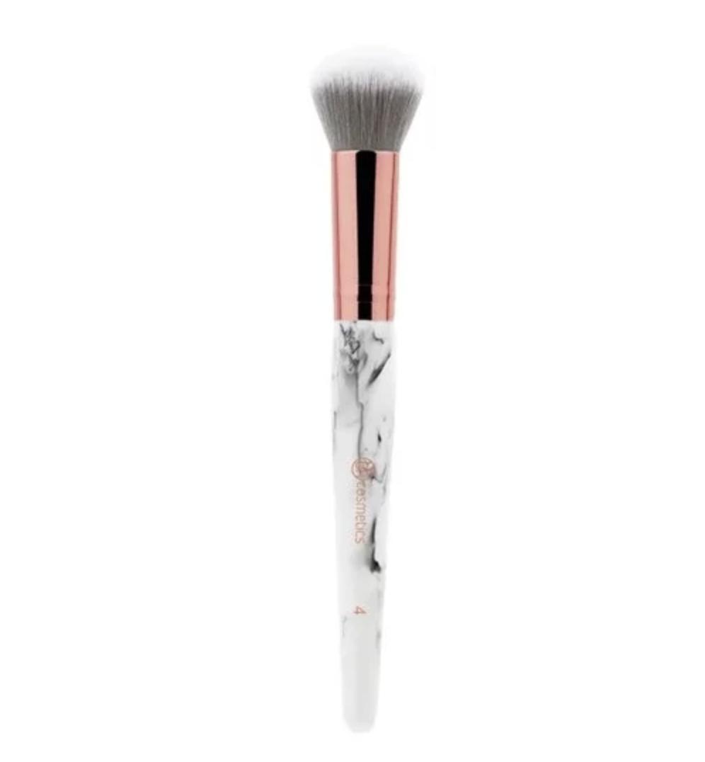 BH Cosmetics Duo-Fibre Powder Face Brush Marble 4