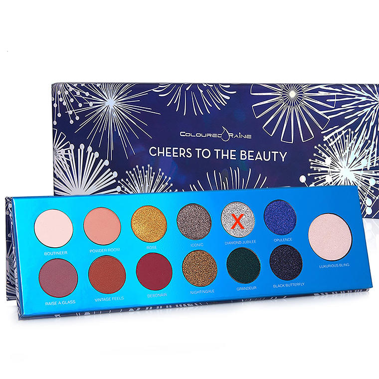 Coloured Raine Cheers To The Beauty Palette (without diamond jubilee)