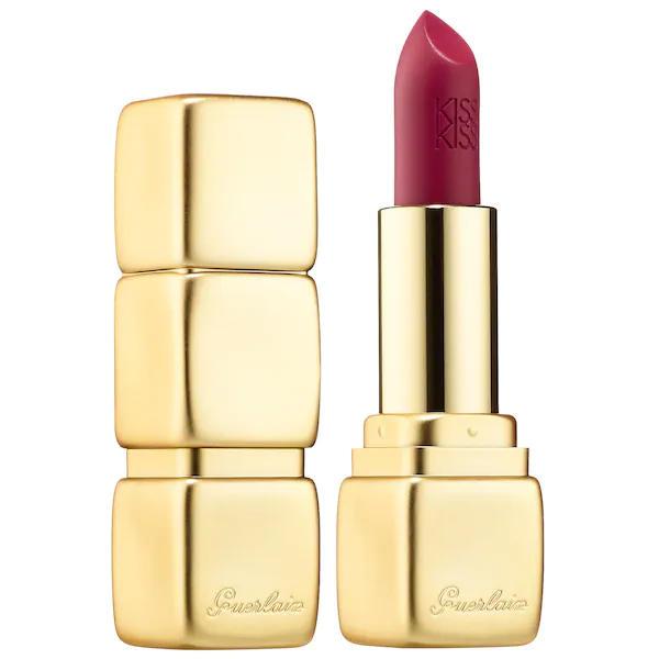 Guerlain KissKiss Matte Lipstick Wild Plum M377