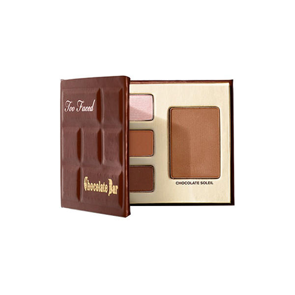 Too Faced Bite-Sized Beauties Palette Chocolate Bar