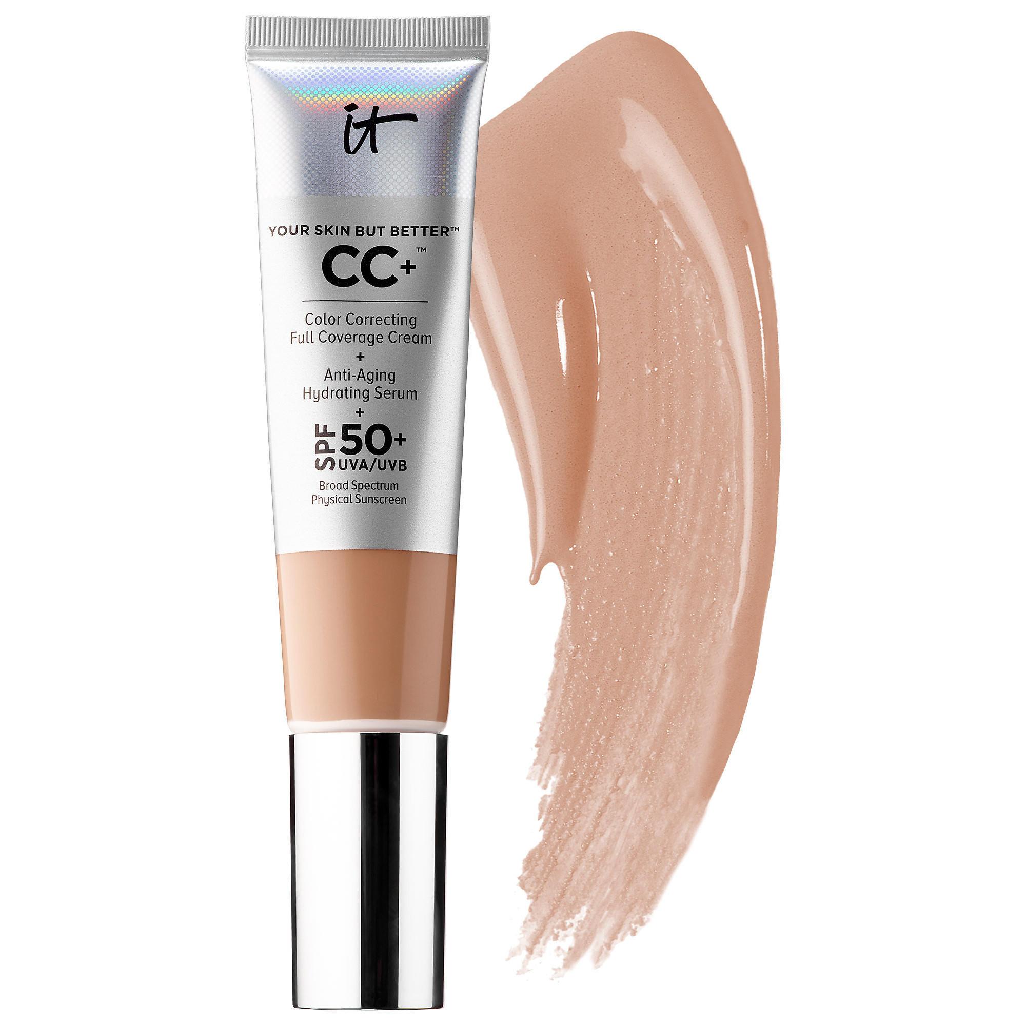 IT Cosmetics CC+ Color Correcting Full Coverage Cream Medium Tan 32ml