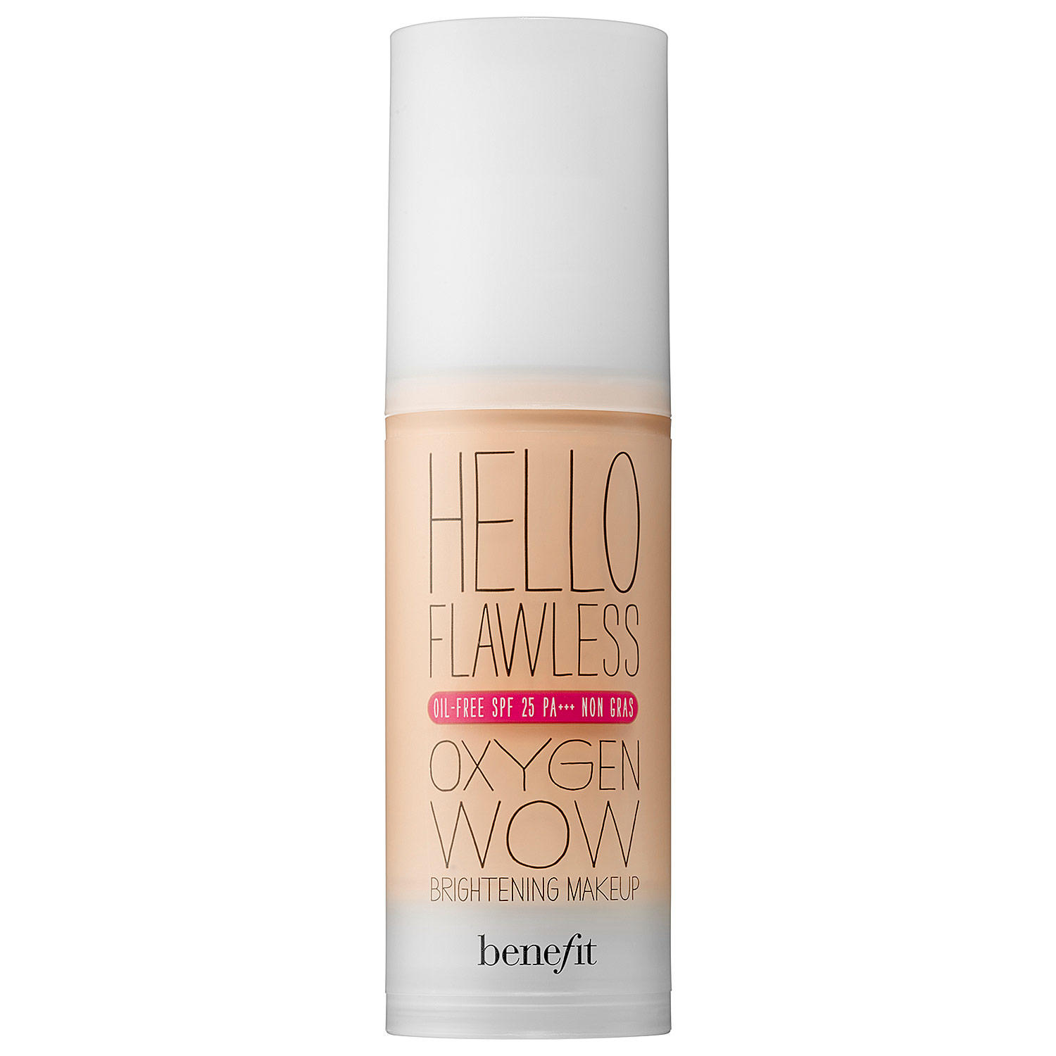 Benefit Hello Flawless Oxygen Wow Brightening Makeup Foundation Champagne