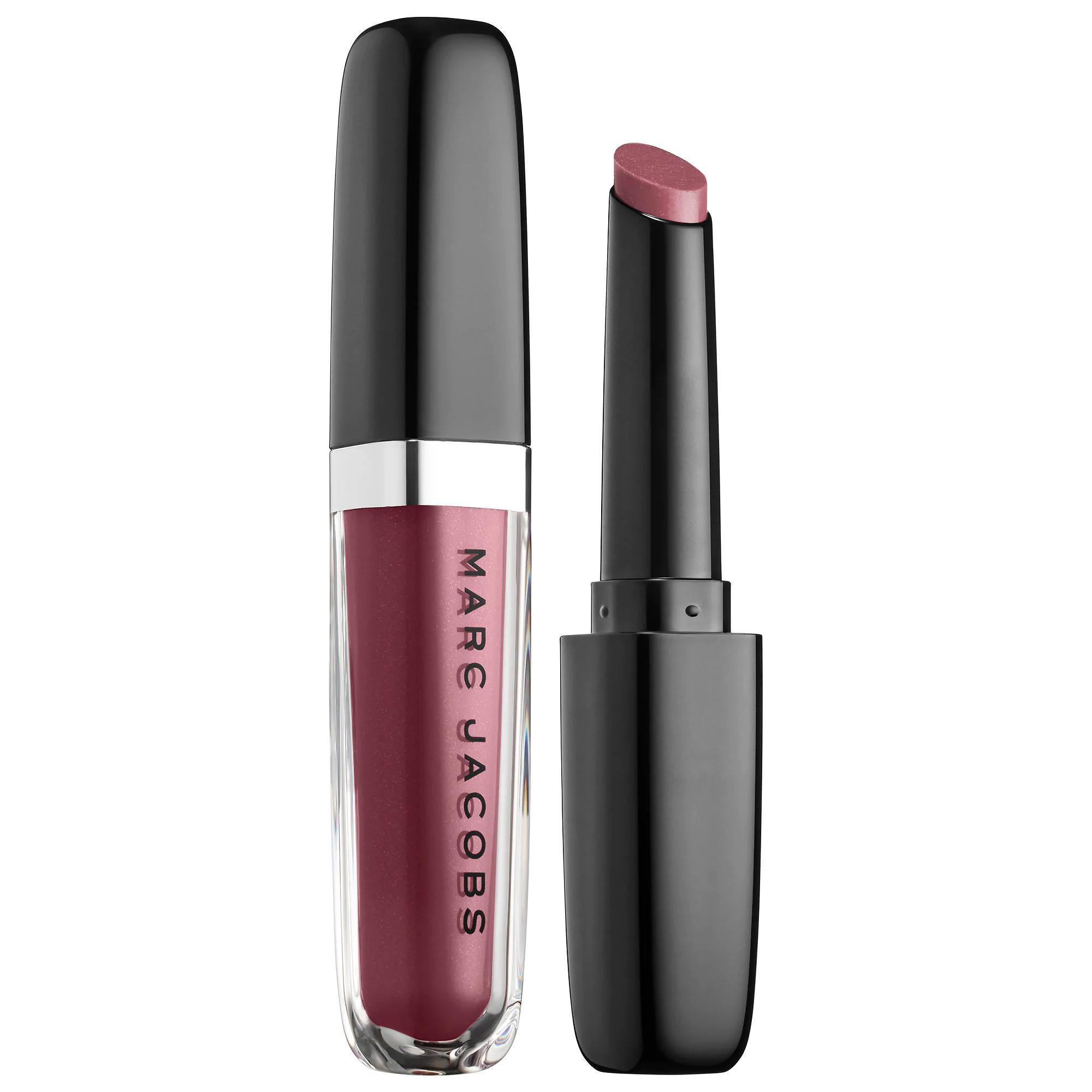 Marc Jacobs Enamored Hydrating Lip Gloss Stick One Mauve Time 556