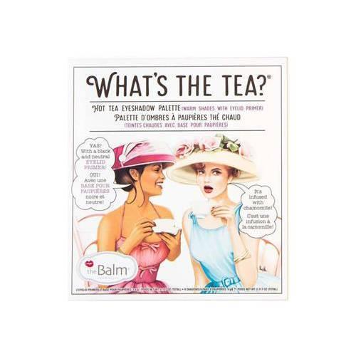the Balm What's The Tea? Hot Tea Eyeshadow Palette