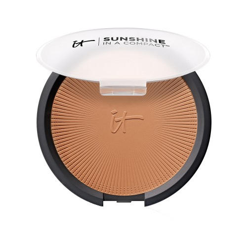 IT Cosmetics Sunshine In A Compact Anti-Aging Matte Bronzer Warmth