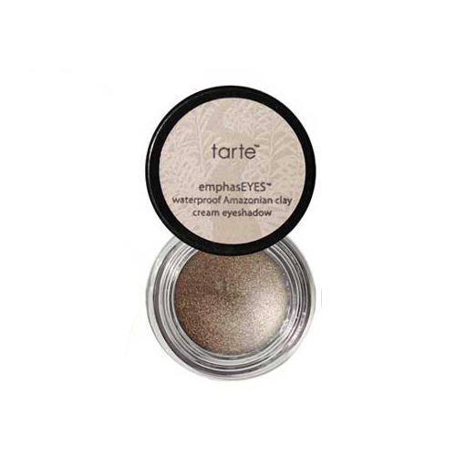Tarte EmphasEYES Amazonian Clay Waterproof Cream Eyeshadow Shimmering Taupe Mini .1oz