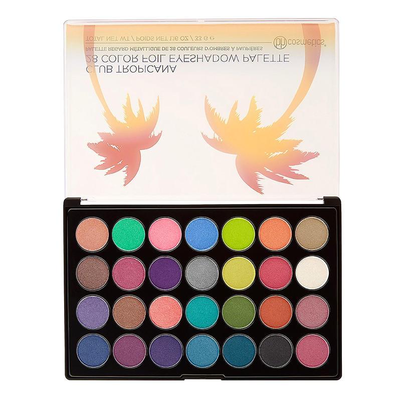 BH Cosmetics Foil Eyeshadow Palette Club Tropicana