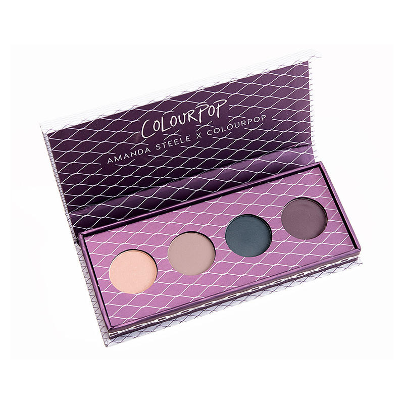ColourPop Eyeshadow Palette Amanda Steele Collection Weekend Warrior