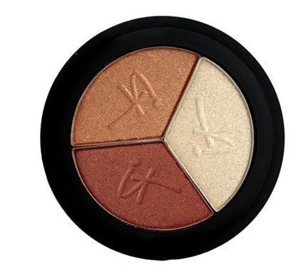 IT Cosmetics Luxe High Performance Hydrating Eyeshadow Trio Pretty In Amber