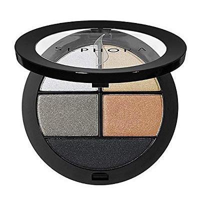 Sephora 4 Shadows & Liner Palette Walking On The Moon 07