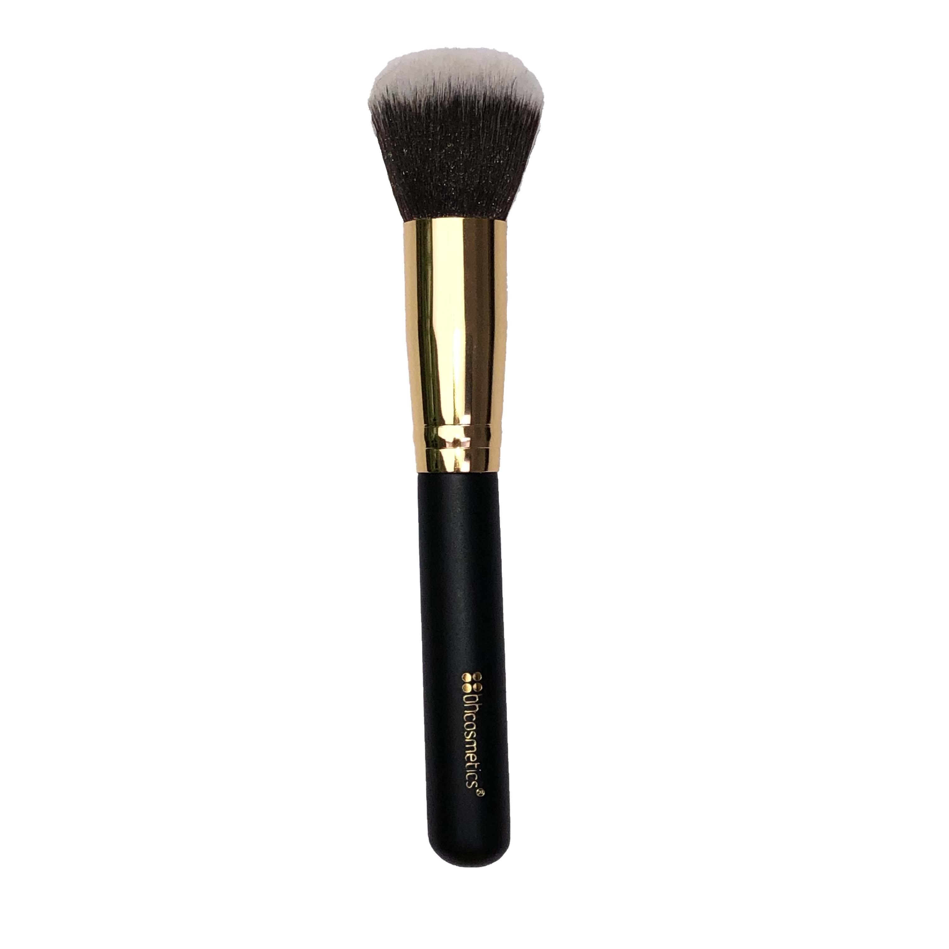 BH Cosmetics Large Fluffy Face Buffing Brush Gold