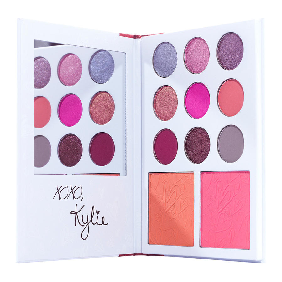 Kylie Eye & Cheek Palette Valentine's Day Collection Kylie's Diary