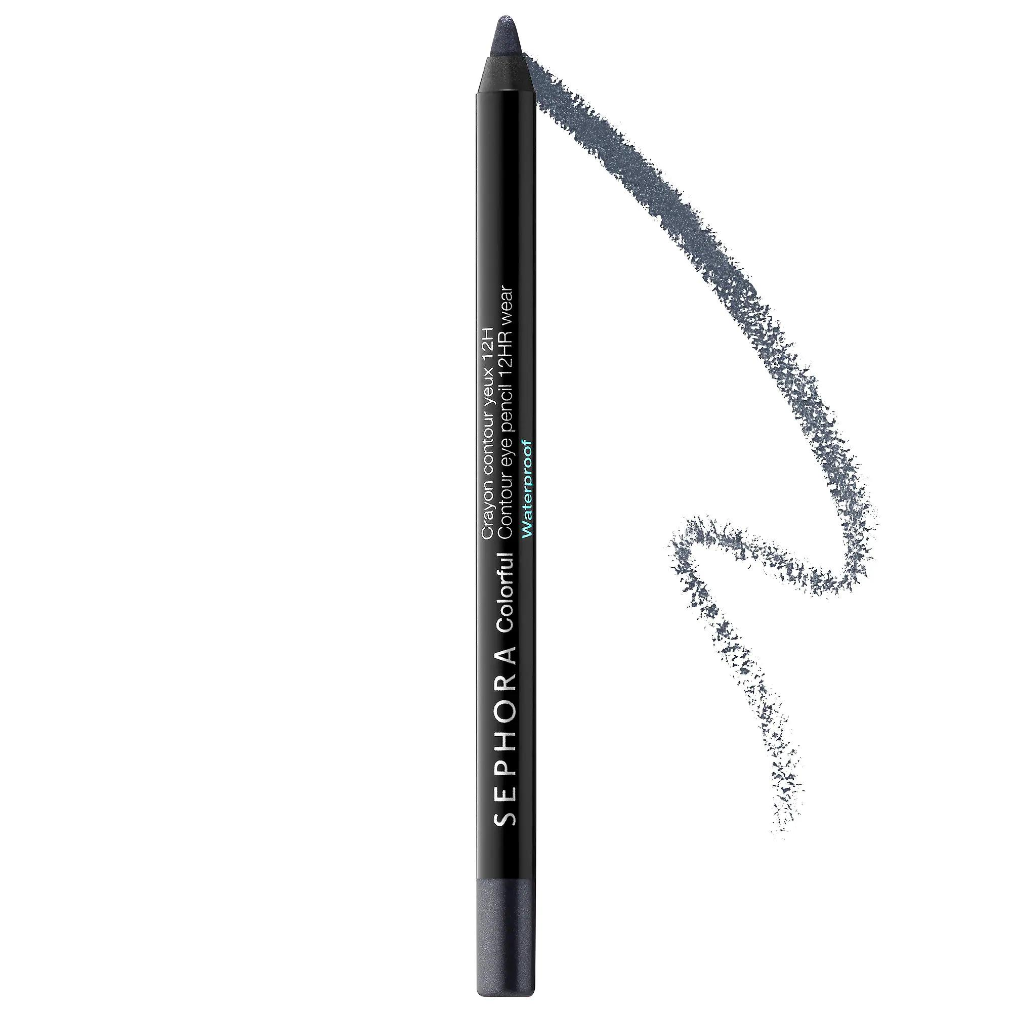 Sephora 12hr Colorful Contour Eyeliner Midnight Blue 48