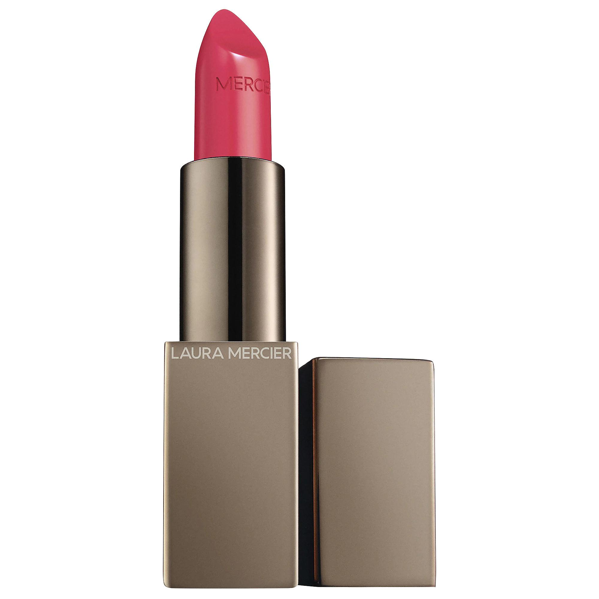 Laura Mercier Rouge Essentiel Silky Creme Lipstick Rose Ultime