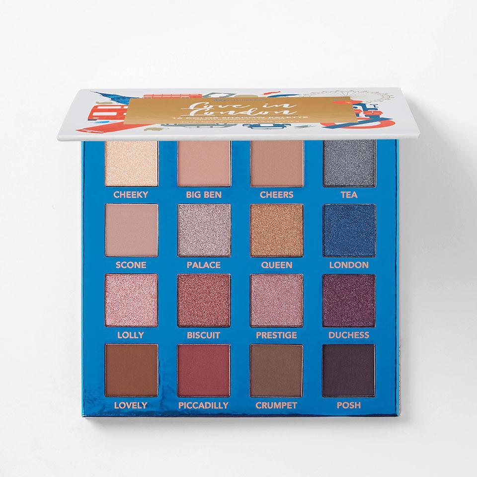 BH Cosmetics Love In London Shadow Palette
