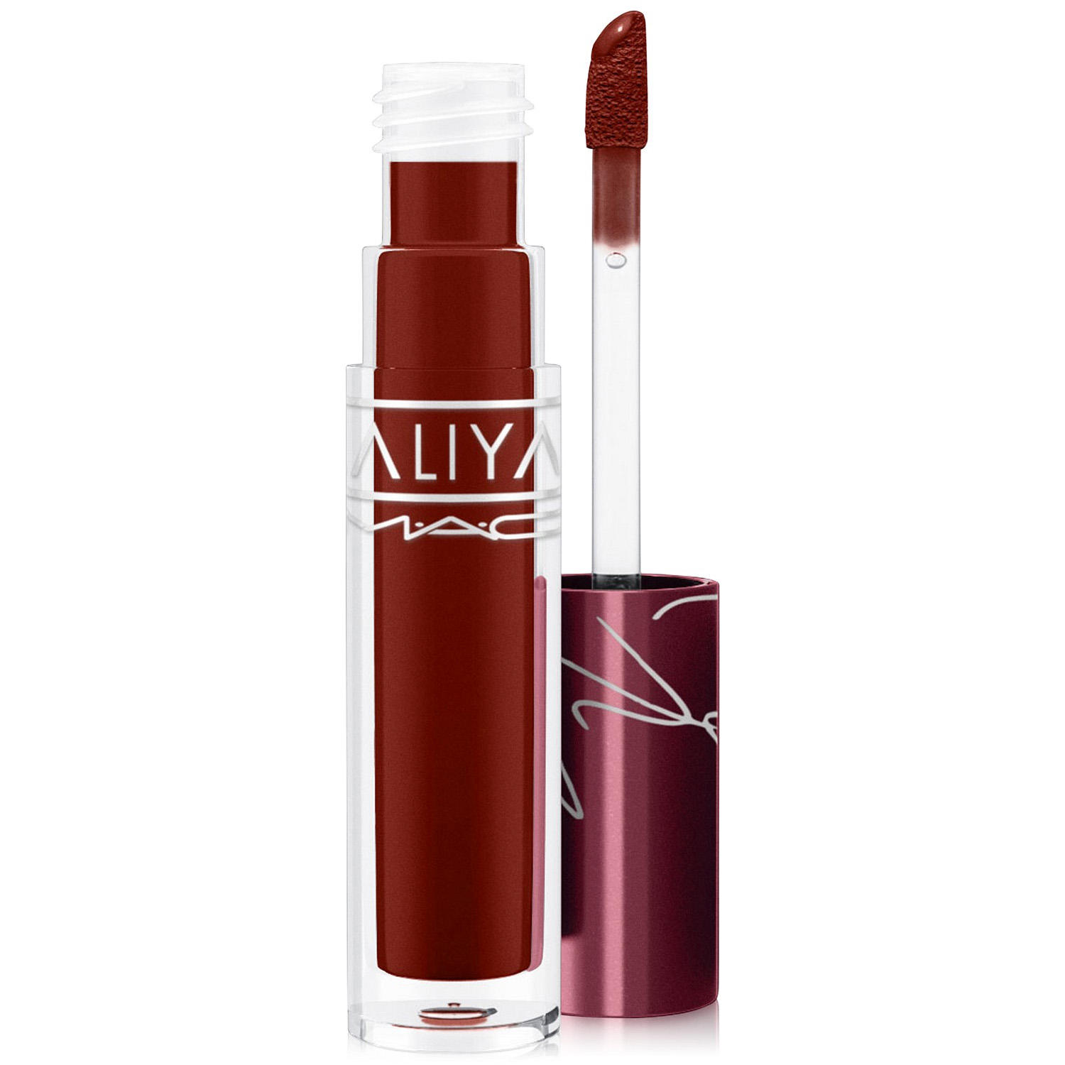 MAC x Aaliyah Lipglass At Your Best You Are...