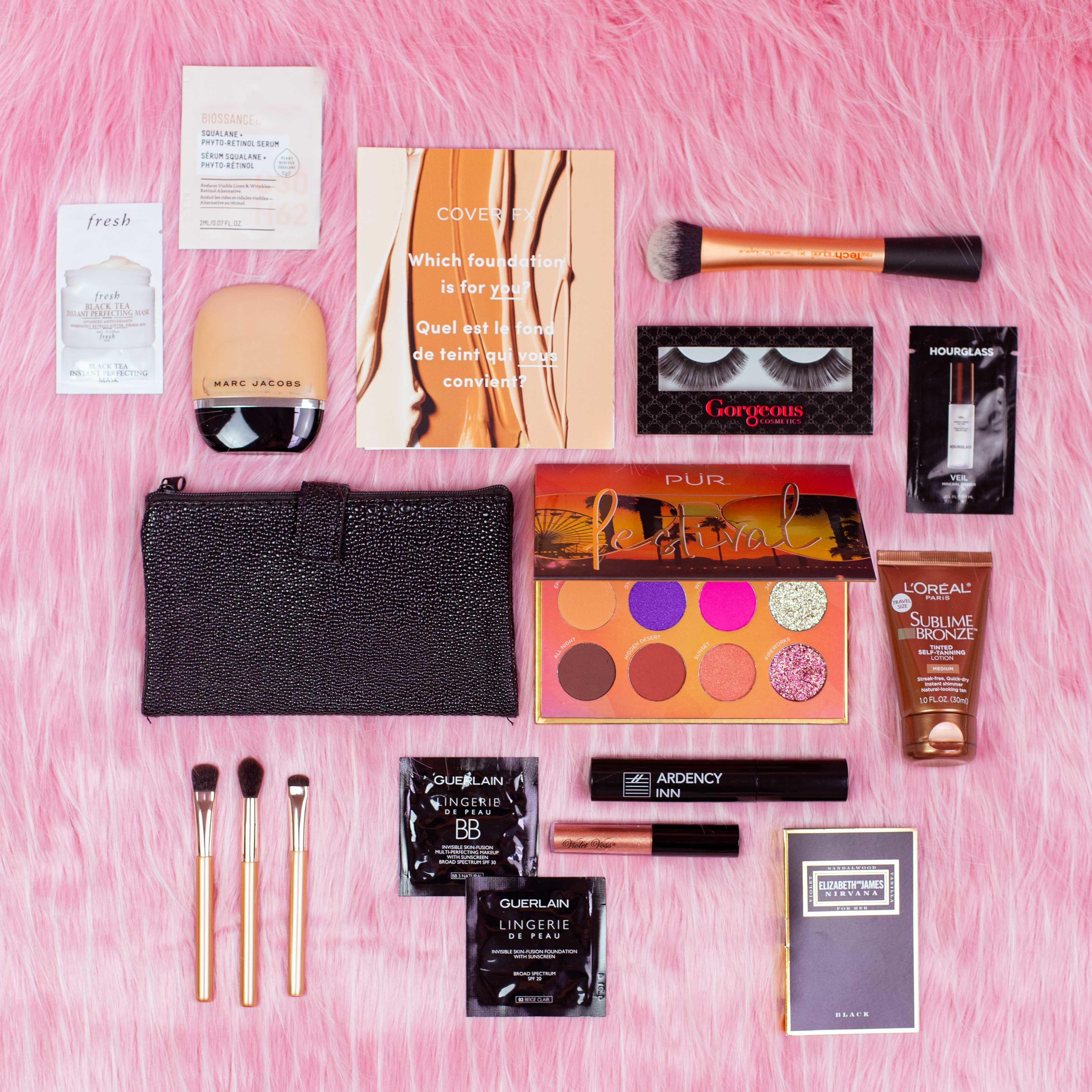 💖 Hottie Haul PUR Cosmetics Black 81