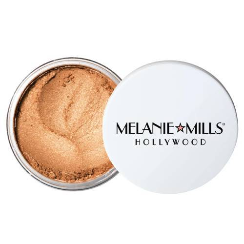 Melanie Mills Gleam Radiant Dust Deep Gold Mini