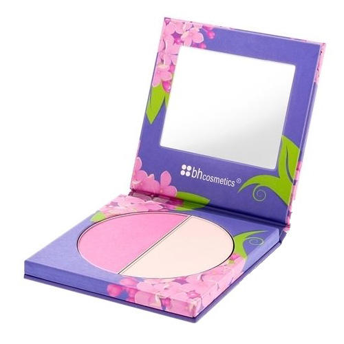 BH Cosmetics Floral Blush Duo Lilac