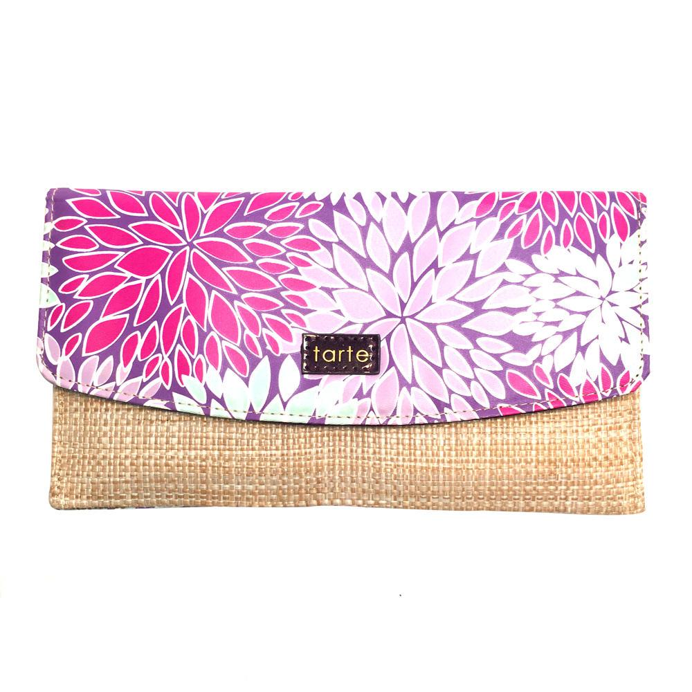 Tarte Tweed & Floral Bag