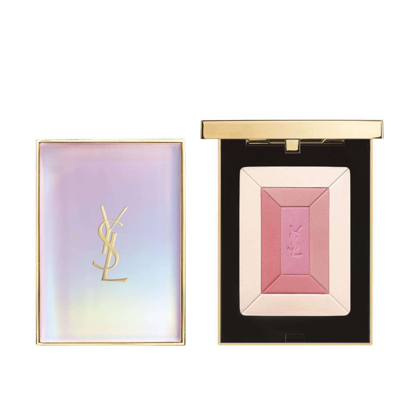 YSL Face Palette Collector HIghlighting Blush Shimmer Rush Spring Collection