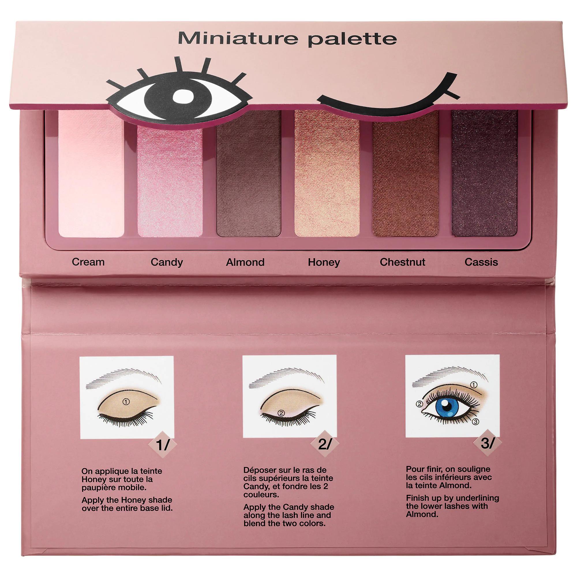 Sephora Miniature Eyeshadow Palette Donut Shades