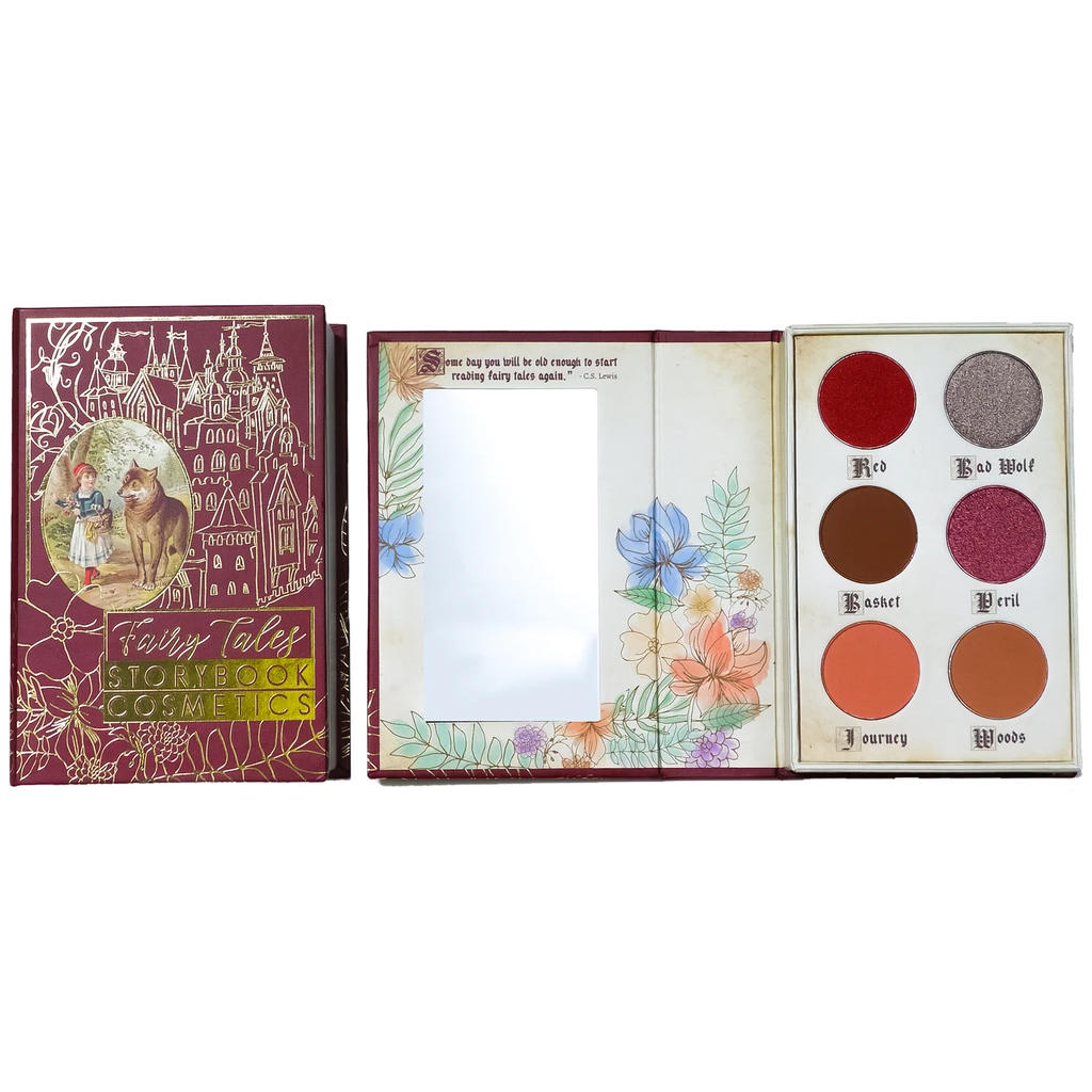 Storybook Cosmetics Little Red Riding Hood Palette