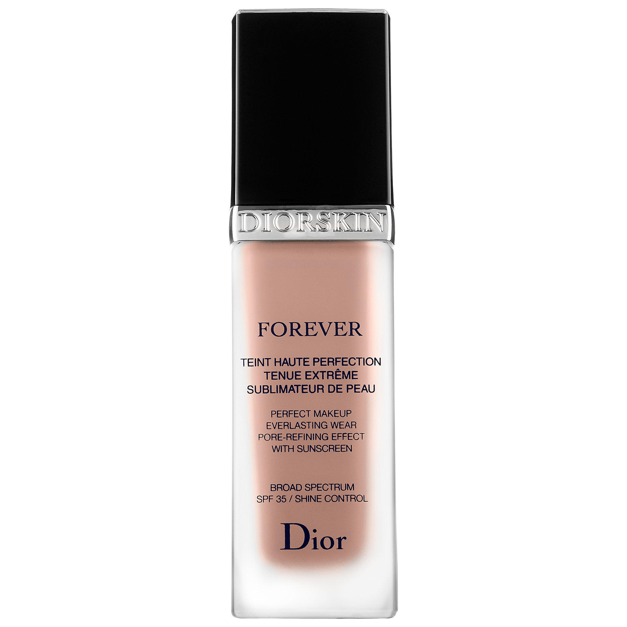 dior diorskin forever perfect foundation broad spectrum spf 35 dark almond 044. Black Bedroom Furniture Sets. Home Design Ideas