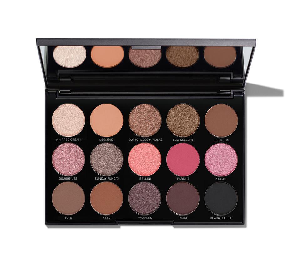 Morphe Brunch Babe Eyeshadow Palette 15B