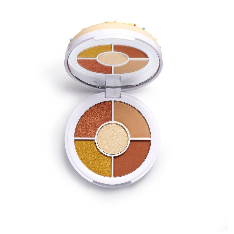 Revolution Beauty Donuts Eyeshadow Palette Maple Glazed