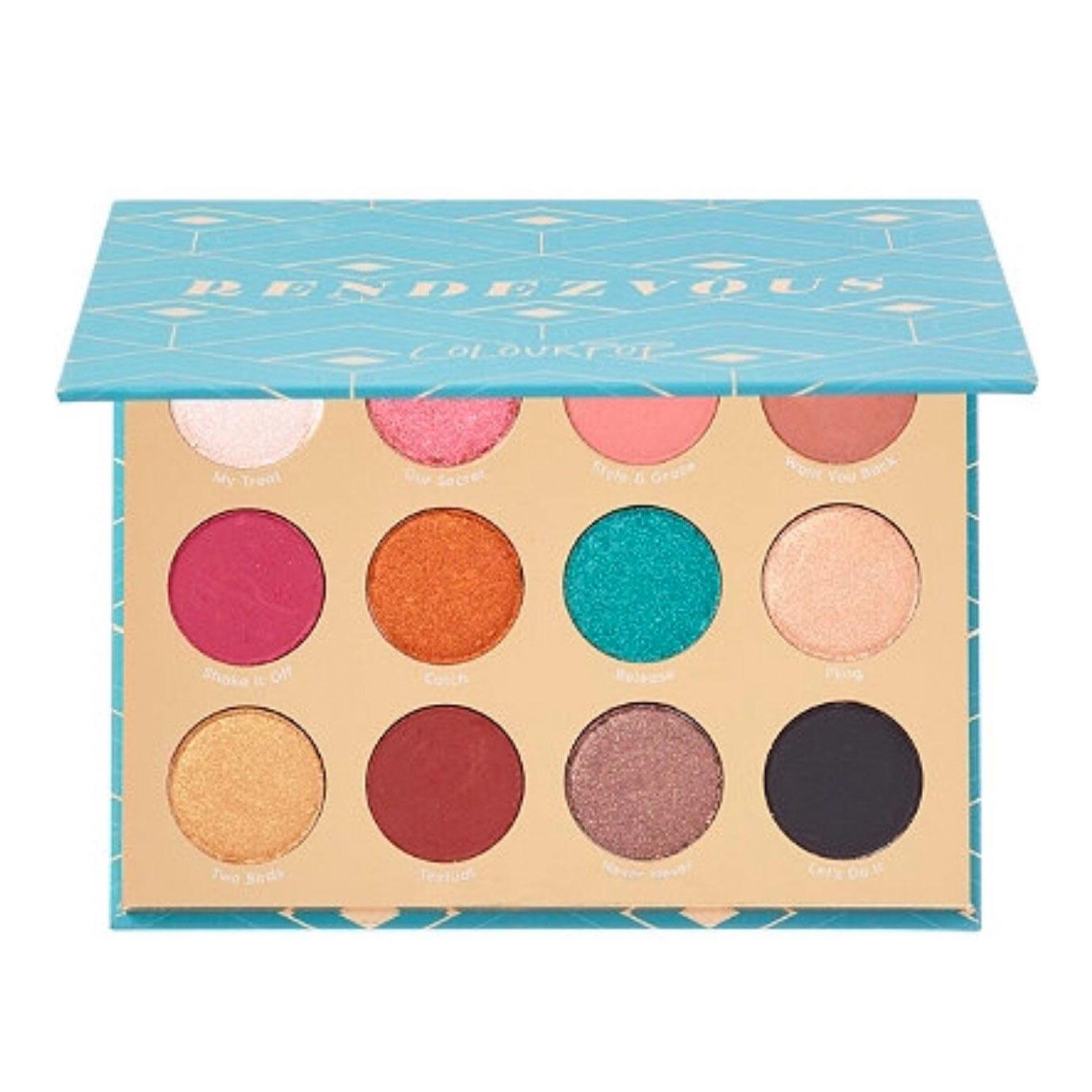 ColourPop Eyeshadow Palette Rendezvous