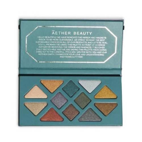 Aether Beauty Crystal Grid Gemstone Palette