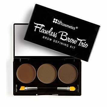BH Cosmetics Flawless Brow Trio Brow Defining Trio Medium