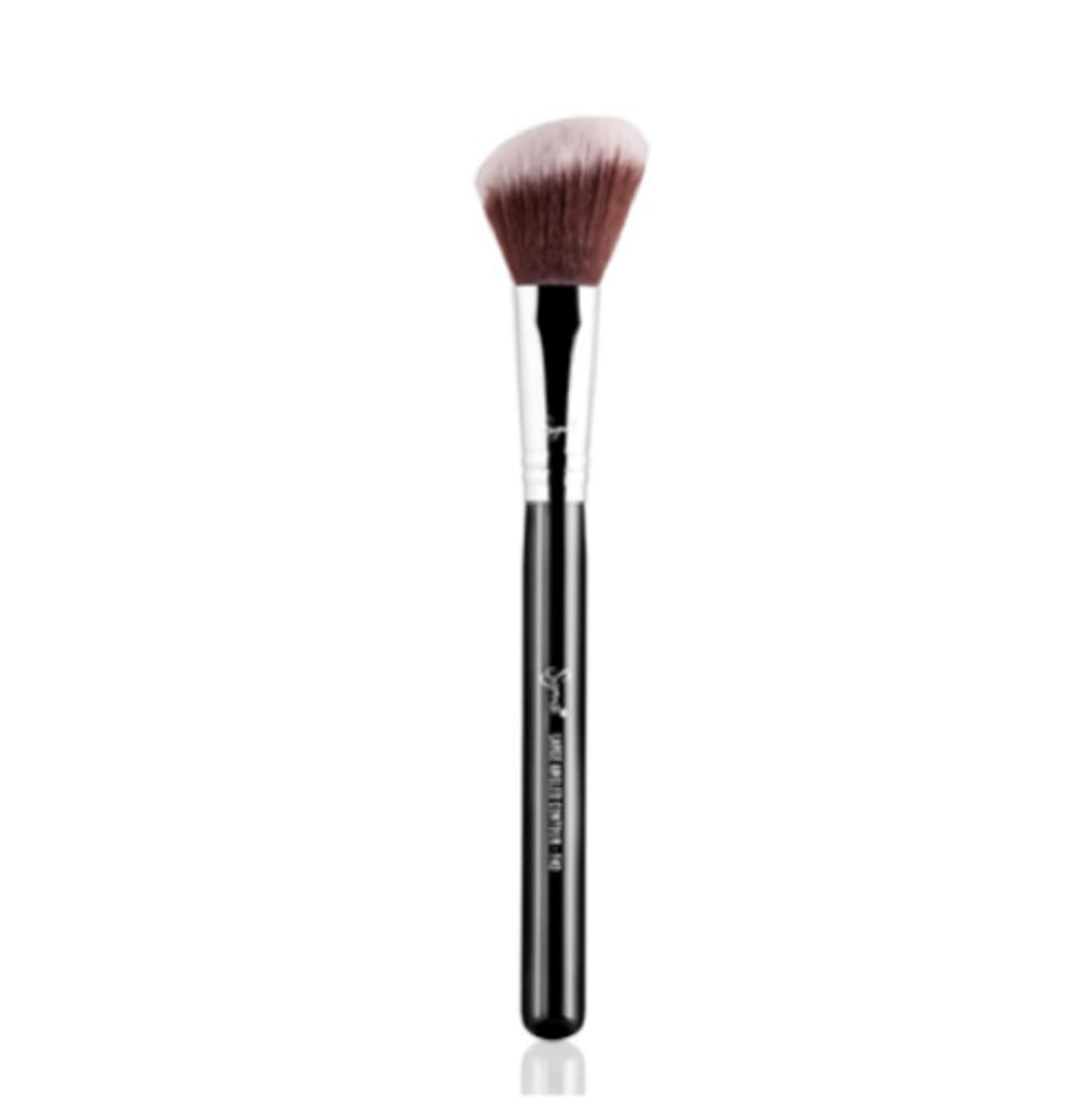 Sigma Large Angled Contour Face Brush F40 (brown bristles)