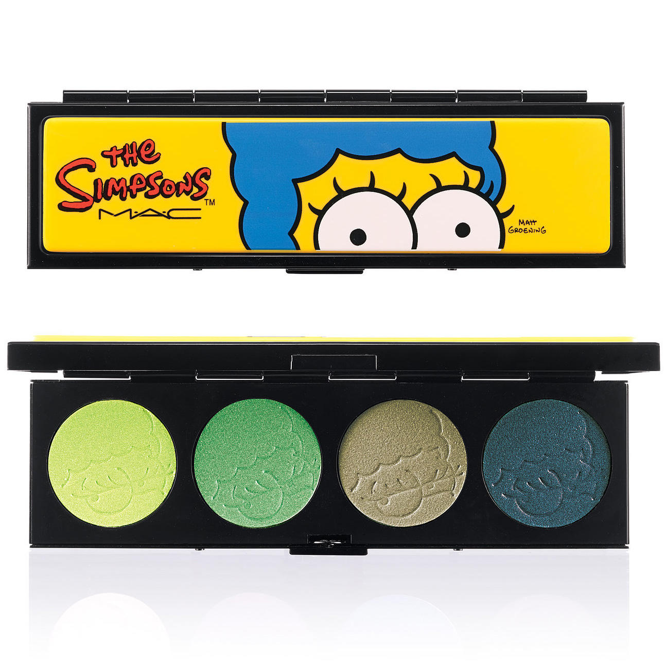 MAC Eyeshadow Quad The Simpsons Collection That Trillion Dollar Look