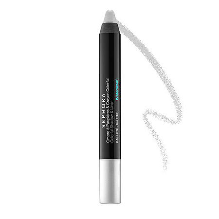 Sephora Colorful Shadow & Liner Silver Glitter 18