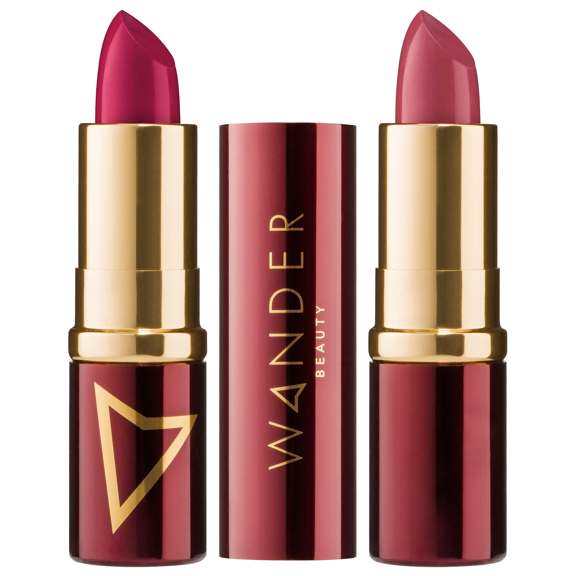 Wander Beauty Wanderout Dual Lipsticks Exhibitionist / BTS