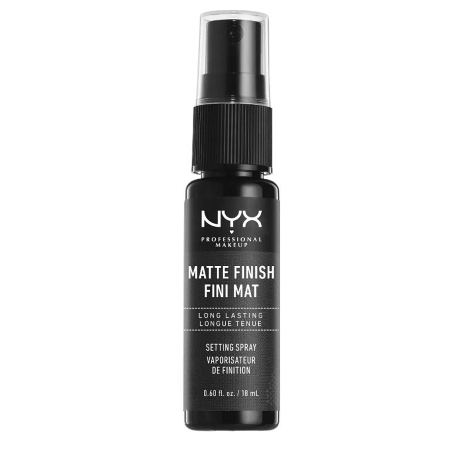 NYX Matte Finish Fini Mat Long Lasting Setting Spray Travel