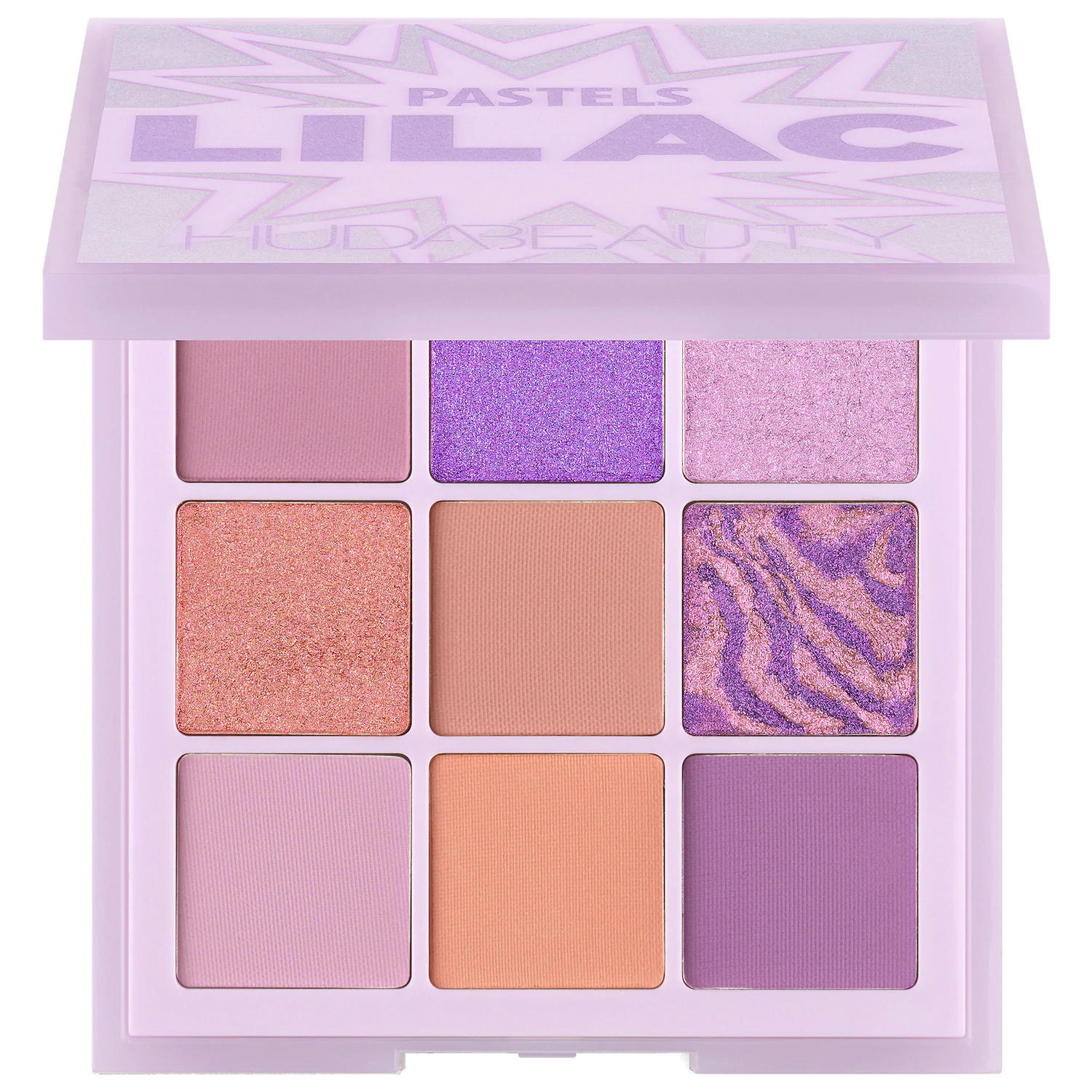 Huda Beauty Pastel Obsessions Eyeshadow Palette Lilac