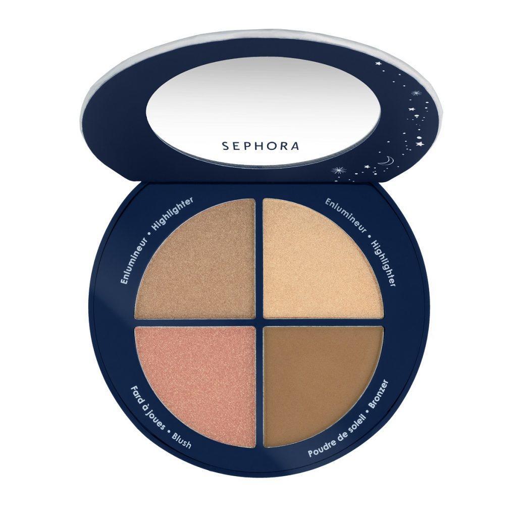 Sephora Enchanted Sky Face & Cheek Palette