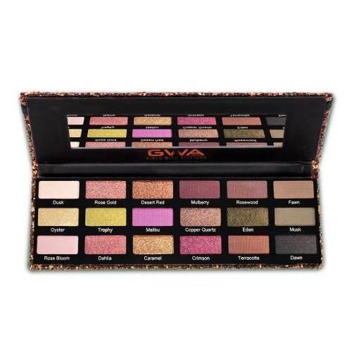 GWA London Cosmetics Rose Metals Eyeshadow Palette