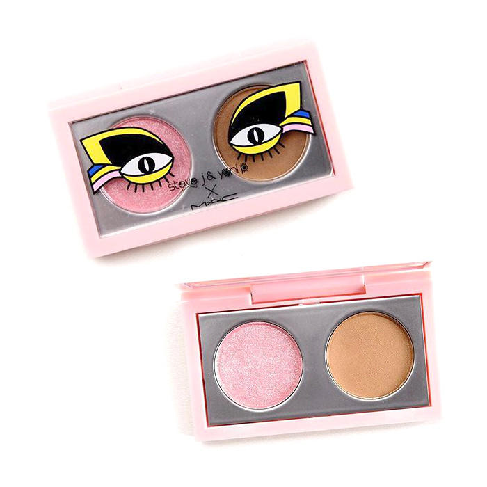 MAC Eyeshadow X2 Duo Steve J. & Yoni P. Collection Touch Me Baby